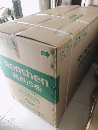 容声(Ronshen) 273升 卧式冰箱 蝶形门 侧掀门 冷藏冷冻双温冰柜 家用商用厨房二合一 BCD-273KB 晒单图
