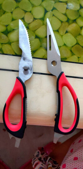 张小泉 多用厨房剪刀J20110100(两色随机发货) 晒单图