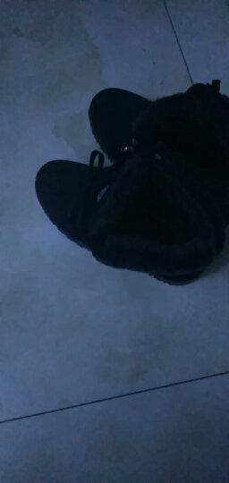 唐宋福冬季新款老北京布鞋女棉鞋厚底加绒加厚保暖鞋中老年人女高帮系带妈妈棉靴软底防滑女靴子 黑色 38 晒单图