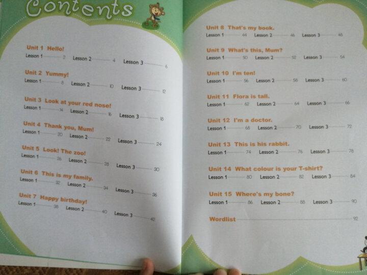 新概念英语青少版第2级 学生用书+练习册(点读版 套装共4册 附MP3光盘2张、DVD光盘2张) 晒单图