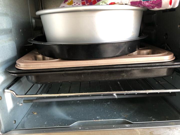 学厨 CHEF MADE 蛋糕模具面包模具450g吐司烘焙模具中号板烧汉堡模工具磅蛋糕模具烤箱用黑色WK112009 晒单图