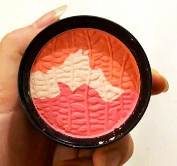 玛丽黛佳胭脂 腮红 裸妆 橘粉 高光修容 持久自然 彩妆 元气风动三色腮红 04阳光橘 6g 晒单图