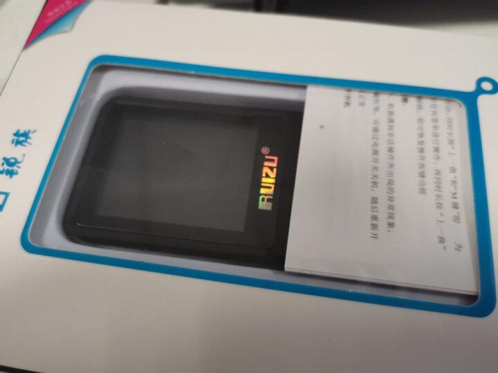 锐族(RUIZU) X02 8G 黑色 无损音乐播放器mp3/mp4 随身听 英语学习听力录音 晒单图