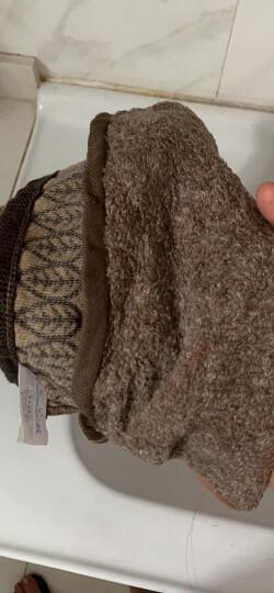 金号 毛巾家纺 纯棉提缎贴布绣卡通毛巾 两条装 红/绿 79g/条 68*34cm 晒单图