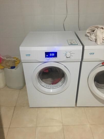 CTT 干衣机 干衣容量10公斤 功率2000瓦 微电脑全自动 衣干即停 滚筒烘干机家用商用 GYJ100-G9 晒单图