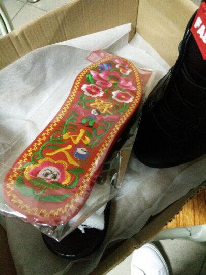【领券满99减50】绣花鞋垫男女士运动鞋垫十字绣本命年刺绣结婚喜庆鞋垫 恩爱鸳鸯 44 晒单图