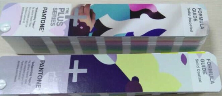 彩通PANTONE配方指南 GP1601N 国际标准专色色卡CU色卡 晒单图