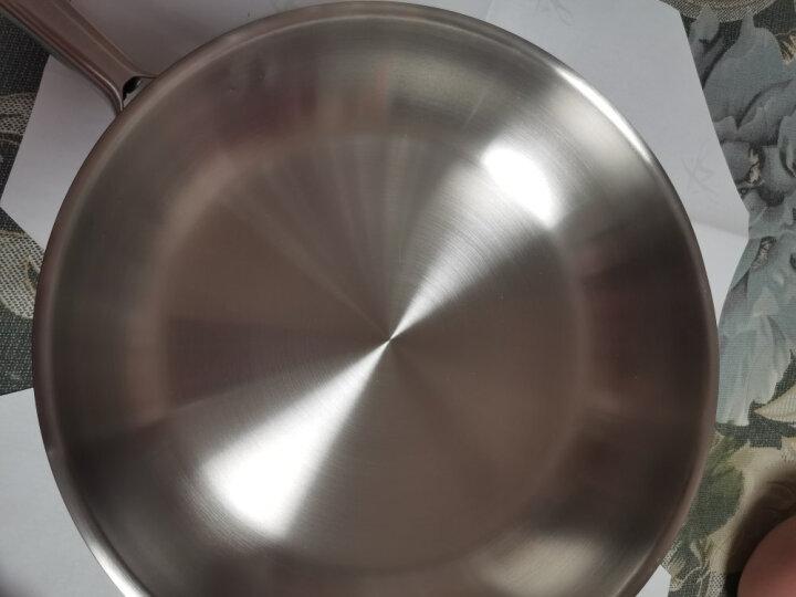 德国进口 双立人(ZWILLING)无涂层煎炒锅 Choice系列不锈钢平底锅20cm 晒单图