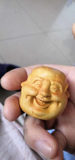 太行崖柏手把件根雕工艺品把玩件新品上市木雕手把件文玩盘玩 18.笑脸佛 晒单图