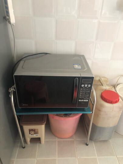 四季沐歌(MICOE) 微波炉架子不锈钢厨房置物架收纳架厨房用品烤箱架 三层58cm长 晒单图