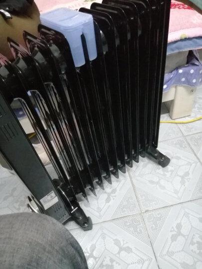 先锋(Singfun)取暖器 电暖器 电暖气片家用 13片全屋速暖电热油汀 静音节能 烘衣加湿DYT-Z2 晒单图