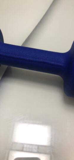 PROIRON 彩色浸塑磨砂哑铃郑多燕跳操女士哑铃套装健身器材 体育用品2公斤 晒单图