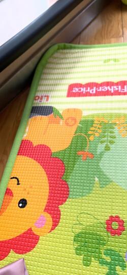 费雪FisherPrice婴儿韩国进口加厚双面宝宝爬行垫 游戏垫BMF22 (180*200*1cm)新老包装随机发货新年礼物 儿童 晒单图