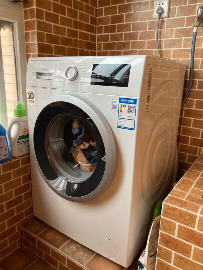 博世(BOSCH) 8公斤 婴幼洗 变频 滚筒洗衣机  筒清洁(白色)XQG80-WAN201600W 晒单图
