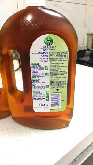 滴露Dettol 消毒液 1.8L 家居衣物除菌液 与洗衣液、柔顺剂配合使用 晒单图