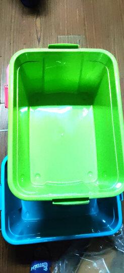 禧天龙 衣物被子收纳箱 52升3个装 儿童玩具整理箱 文件书籍储物箱 抗压搬家打包箱 晒单图