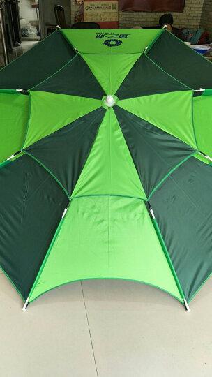 渔之源(Yuzhiyuan) 钓鱼伞2.4米防雨遮阳伞万向折叠渔伞户外垂钓渔具 【拼色扣架款】黑胶加固-2.0米蓝黑 晒单图