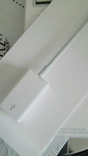 Apple USB-C/雷霆3 至 USB 转换器 适用部分Macbook iPad 平板 笔记本 转接头 晒单图
