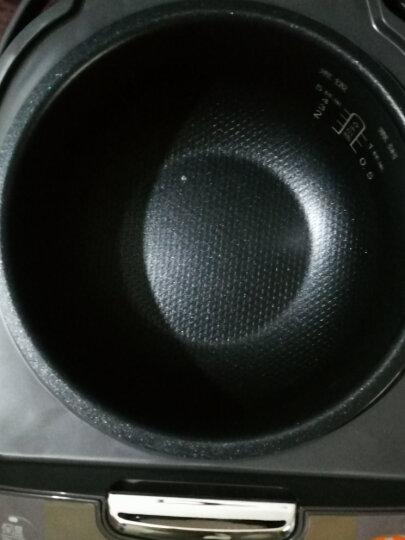 苏泊尔(SUPOR)电饭煲3L家用智能预约多功能电饭锅3-4人 小迷你 4升 酒红色 晒单图