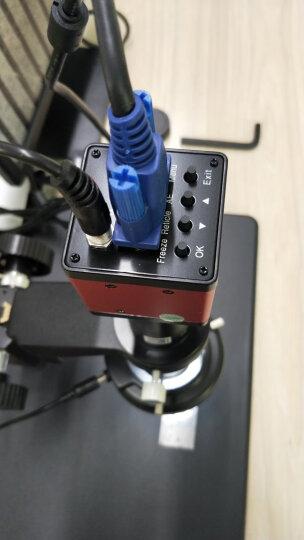 高品GP-331V工业高清CCD显微镜电子显微镜数码视频显微镜放大镜带十字线500万像素 GP-331V显微镜+21.5寸显示器 标配0.5X镜头 21-135倍可调 晒单图