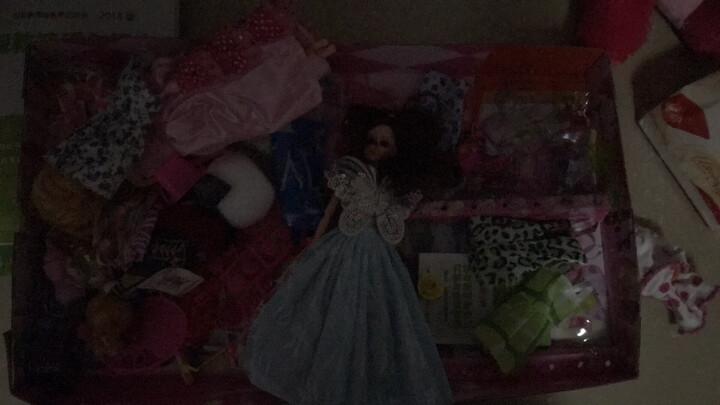 【送豪礼】女孩娃娃套装礼盒情景玩具屋公主换装12关节3D真眼美瞳玩具屋多套衣服 Q3套装大礼盒 晒单图