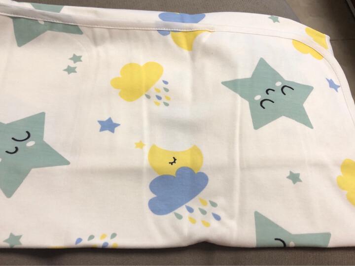 象宝宝(elepbaby)婴幼儿尿垫 竹纤维三层加厚防尿垫可水洗宝宝隔尿垫护理垫大号100X60CM(粉色1条装) 晒单图