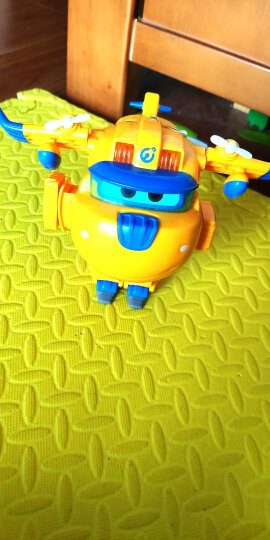 奥迪双钻(AULDEY)超级飞侠益智玩具大变形机器人-卡尔叔叔 儿童玩具男女孩儿童节礼物 720225 晒单图