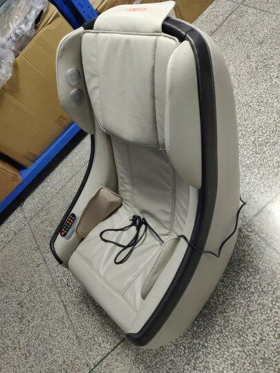 久工(LITEC)按摩椅家用小型 电动智能蓝牙音乐沙发日式全自动多功能SL导轨办公按摩椅 黑色(送2080元足疗机) 晒单图