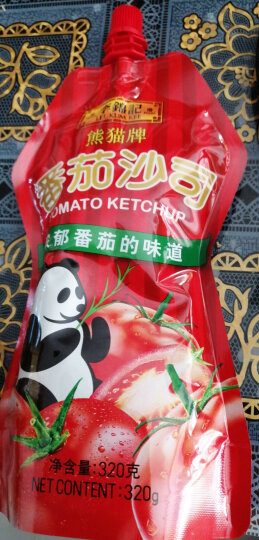 李锦记 番茄酱 番茄沙司 意面薯条蘸酱 320g  晒单图