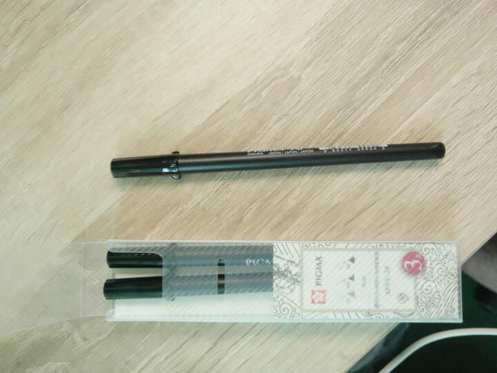 日本樱花(SAKURA)针管笔秀丽笔勾线笔中性笔签字笔绘图笔进口水笔 XSDK123-3P 软头3支套装 XFVK-3P 晒单图