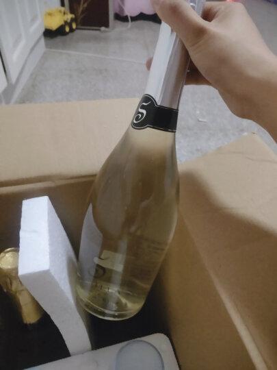 【配2香槟杯】缤飞碟起泡酒葡萄酒果酒红酒女士钟爱的甜果酒气泡酒汽泡酒750ml *4支组合装配2香槟杯配礼袋 晒单图