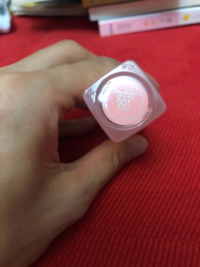 迪奥(Dior)魅惑润唇蜜001# 3.5g 经典粉红色 (口红 迪奥口红 变色唇膏   滋润保湿) 晒单图