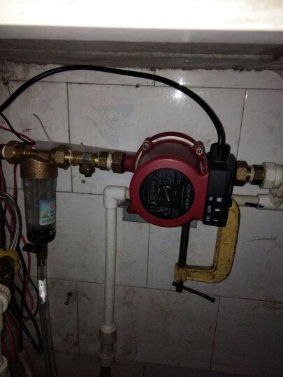 格威特家用全自动增压泵静音热水器加压泵自来水太阳能屏蔽水泵 GW15-9AUTO原厂配置 晒单图