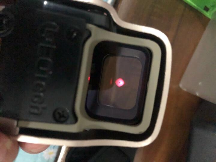 倍视达户外快速寻鸟瞄准镜四变点全息瞄T1小海螺55系列M2激光瞄准器内红点光学瞄十字镜虹膜折叠红点瞄 IPSC竞技瞄COMRE-沙色 晒单图