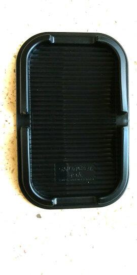 舜威 汽车防滑垫iphone三星车载车用硅胶手机座GPS导航仪支架手机架置物盒 单卡两个(15*10cm)+防滑垫 晒单图