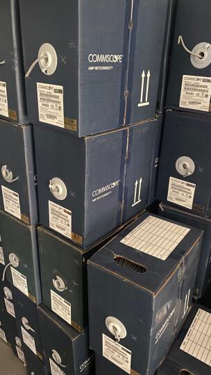 康普 原装超五类网络水晶头 RJ45(100个一包)8-554720-3(原安普布线品牌) 晒单图