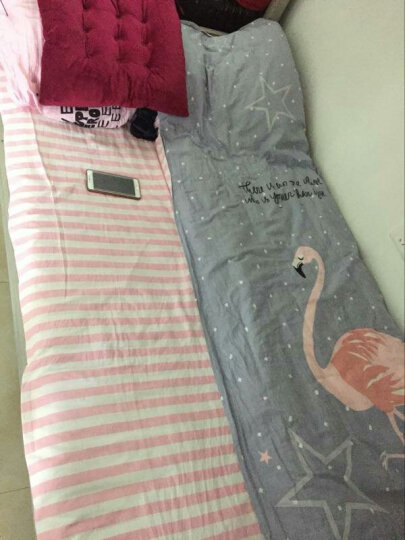 皮尔卡丹 全棉三件套床上用品 幼儿园纯棉3件套床单被套学生宿舍单人床品套件 慕思 1.2米床【160*210cm】 晒单图