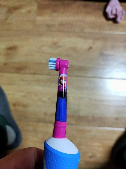 欧乐B儿童电动牙刷头 4支装 适用D10,D12儿童电动牙刷(星球大战图案 款式随机)EB10-4K 德国进口 晒单图