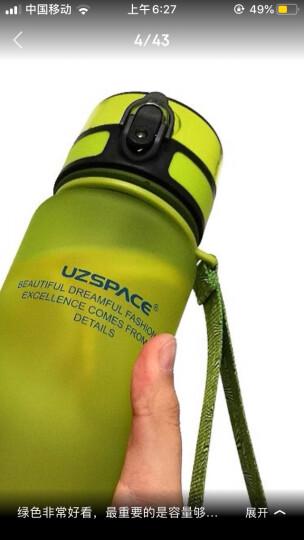UZSPACE 优之健身运动水壶防漏水杯子户外旅行水瓶弹跳盖1000ml 红色 1000ml 晒单图