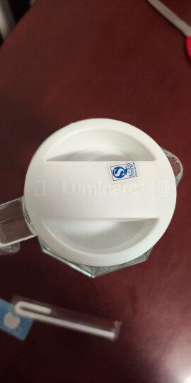 乐美雅 Luminarc 无铅玻璃八角水壶凉水杯冷水壶饮料果汁茶壶 1.1L单只装 23354 晒单图