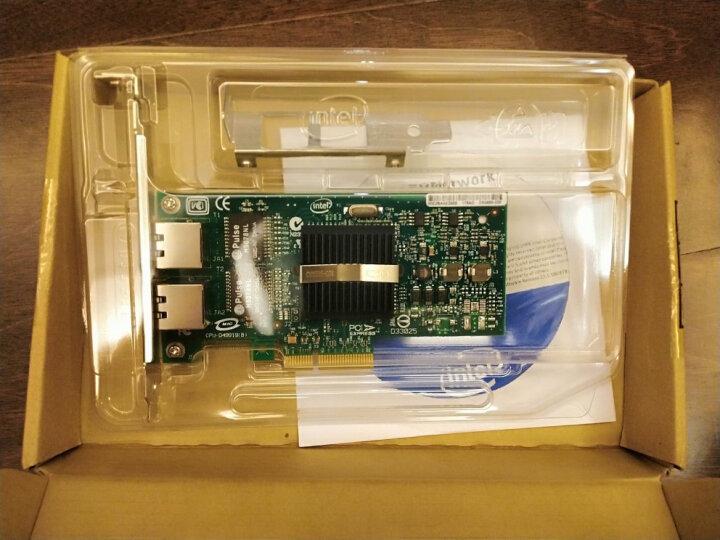 英特尔(Intel) 千兆双口PCI-E工业相机网卡,机器视觉网卡EXPI9402PT 晒单图