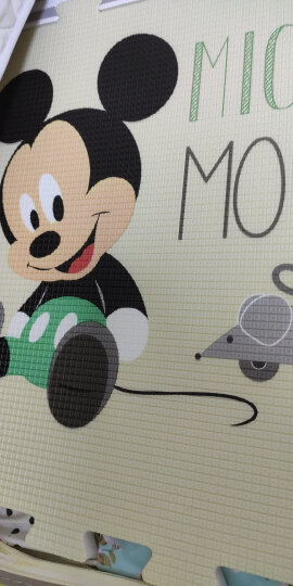 迪士尼DISNEY宝宝爬行垫 加厚XPE双面婴儿爬行垫儿童地垫爬爬垫 200*180*1.5cm 晒单图