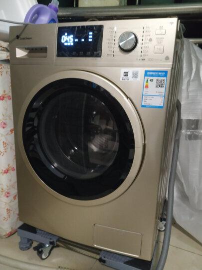 小天鹅(LittleSwan)8公斤变频  洗烘一体 滚筒洗衣机全自动 智能家电 蒸汽烘干 TD80V80WDG 晒单图
