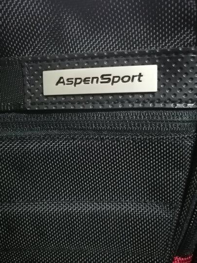 艾奔男士双肩包 书包男潮流学生韩版商务休闲背包女旅行电脑包 灰色 20英寸可放17英寸电脑 晒单图