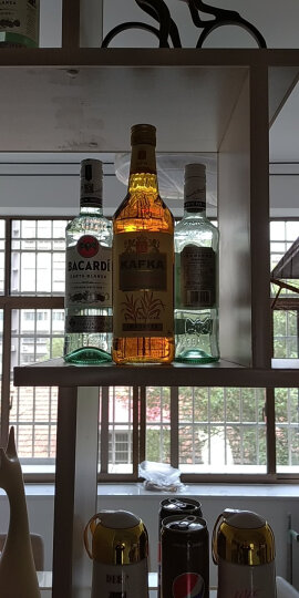卡夫卡(Kafka)洋酒 黑朗姆酒鸡尾酒750ml 晒单图