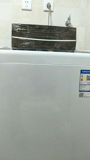 海尔(Haier)8公斤全自动波轮洗衣机 智能模糊控制 漂甩二合一 XQB80-M21JD 晒单图
