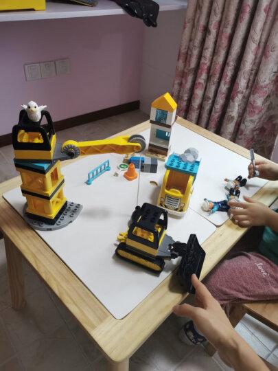 新款LEGO乐高得宝系列大颗粒拼插积木儿童男孩女孩玩具 10907环球动物(2岁+121粒) 晒单图