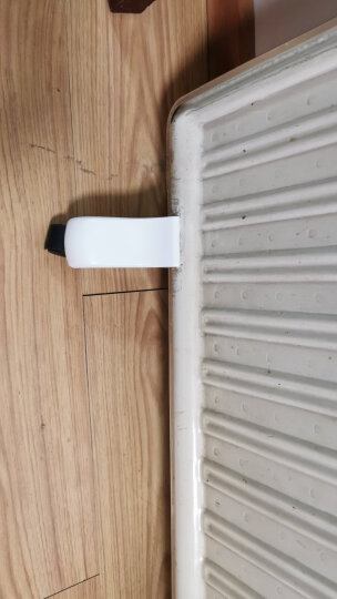 桑普板式电暖器油汀电暖气脚支架含脚轮配件一套底脚轮子原厂薄板支脚油丁一套取暖器电暖气 白色支脚1个 晒单图