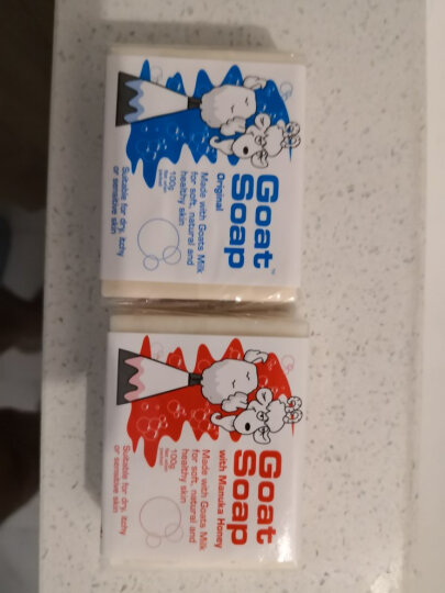 Goat Soap 洗手洁面沐浴皂 山羊奶手工香皂 保湿滋润 蜂蜜味 澳洲进口 100g 孕妇婴儿适用 晒单图