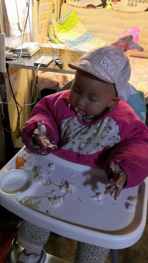 Tobaby 宝宝餐椅婴儿便携儿童餐桌椅子多功能可折叠吃饭餐椅 TB-518浅绿色+皮套 晒单图